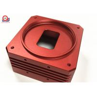 Cheap Red Precision Machine Motorcycle Parts Easy Installation ISO 9001 Certification for sale