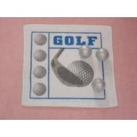 Cheap Golf Design Compressed Terry Hand Towel as YT-614 for sale