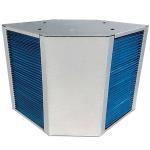Cheap green fresh air counterflow hydrophilic aluminium foil heat exchanger energy recovery coreCounterflow Heat Exchanger for sale