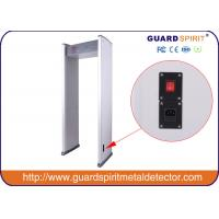 Multi Zones Full Body Metal Detectors / Multi Zone Door Frame Metal Detector