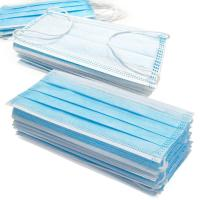 Buy cheap Anti Germs Disposable Surgical Mask , 3 Ply Disposable Blue Earloop Face Mask from wholesalers