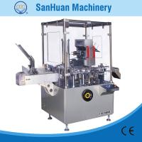 ALU - PVC Blister / Bottle Feeding Packing Vertical Cartoning Machine With PLC Control