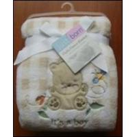 Buy cheap Embroidered Baby Blanket (ABTX-002) from wholesalers