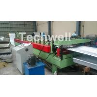 Cheap Aluminium Corrugated Sheet Roof Roll Forming Machine High Speed 10-15m / Min for sale