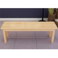 Cheap Outdoor Cherry Dining Wood Solid Wood Bench Strong Structure Highly Endurable for sale
