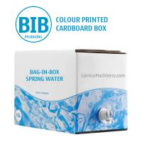Cheap Bag-in-Box Packaging Double-Wall Corrugated Cardboard BIB Carton for sale
