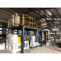 China High Speed PS Pet PP Sheet Extrusion Line , Plastic Sheet Making Machine on sale