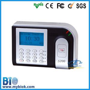 China Proximity ID Card Time Clock Machine with Optional Web-server Bio-S200 on sale