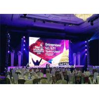 Cheap P3.91 Fine Pitch Stage Rental LED Screen , Wide Viewing Angle Good Heat Effect for sale