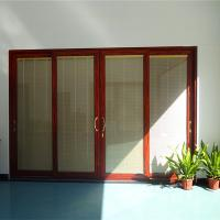 Cheap 2.0mm aluminum profile thickness glass sliding door for sale