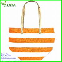 Cheap paper straw gifts bag for sale