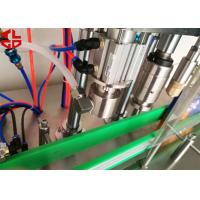 Cheap Stainless Steel Aerosol Spray Filling Machine , Fragrance Perfume filling machine for sale
