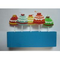 Cheap Unscent Gift Pick Candles Christmas Hat Shape Drip - Less With Various Colors wholesale