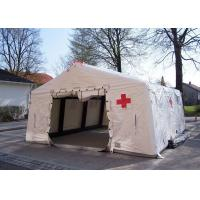 Cheap Removeble Air Tight Army Inflatable Medical Tent 0.65mm PVC Tarpaulin for sale