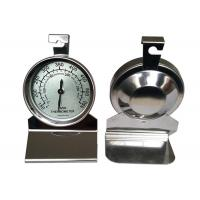 Cheap Stainless Steel Glass Lens Hanging Oven Thermometer No Need Battery for sale