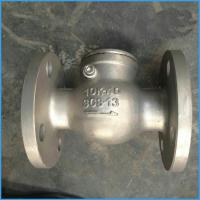Cheap JIS swing check valve flange end for sale