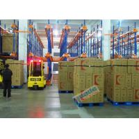 Warehouse Automated Radio Shuttle Racking Cold Supply Chain Pallet Shuttle System
