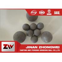 Cheap High Impact Toughness forged grinding balls for cooper mining special used for sale