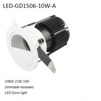Cheap 10W recessed mounted modern dimmable LED down light for supermarket for sale