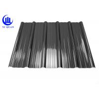Weather Resistant Resin Plastic Corrugated Roofing Sheets For Building Construction Materials