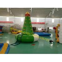 Cheap lake water tower sports games water toys for sale