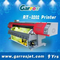 Cheap 3.2m Large Format Inkjet printer Machine( Garros RT3202,1440dpi,Dual dx5 head ) for sale