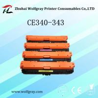 Buy cheap Compatible Laser toner cartridge for HP CE340-343 from wholesalers