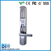 China High Storage Biometric Fingerprint Door Lock with LCD Display Back Lock Bio-LE211 on sale