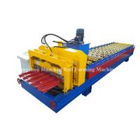 Cheap 1250 Width Panel Glazed Tile Roll Forming Machine For Steel Construction for sale