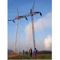 Cheap 132KV SINGLE CIRCUIT GUYED TOWER for sale
