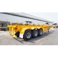 Tri Axle Chassis 40ft Container Chassis Trailers for Sale in Nigeria