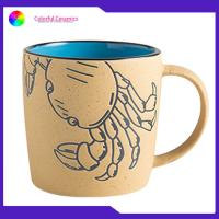 Cheap Microwave Safe Custom Printed Ceramic Coffee Mugs Lead / Cadmium Free Durable for sale