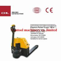 Quality 1.5T Electric Powered Pallet Truck CBD15-170 / CBD15-610 With CURTIS1243 wholesale