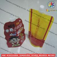 Cheap Strong Freeze Resistance Spout Pouch Packaging For Liquid for sale