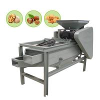 Cheap Almond Shucking Vibrating Screen Machine 400kg/H Capacity 2.2kw Power for sale