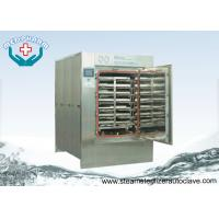 Cheap Pass Through door Autoclave Steam Sterilizer With Temperature Sensor and Pressure Transducer for sale
