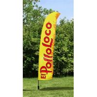 Cheap Outdoor Business Flags And Banners , Full Color Pull Up Banner 4.6 Meter for sale