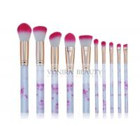 Cheap Marvelous Marble Handle Mass Level Makeup Brushes For Facial , High End for sale