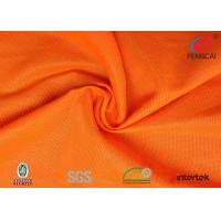 China Flame Retardant Fluorescent Material Fabric 100% 75d Polyester Material on sale