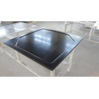 Cheap Black  Epoxy Resin Worktop with Glare Surface and Marine Edge for sale
