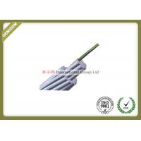 Optical Ground Wire OPGW Outdoor Fiber Optic Cable , Multi Core Fiber Optic Cable