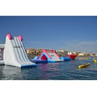 Cheap Giant Inflatable Floating Water Park Equipment / Air Water Games for Kids and Adult for sale