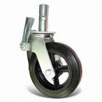 Cheap Scaffolding Caster, Scaffolding Industrial Caster with 5 to 8-inch Diameter, OEM Orders are Accepted for sale
