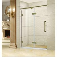 China SD-A1014 stainless 304 green bronze frameless shower screen on sale
