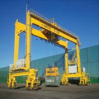 China Electric Hoist Ship Gantry Crane 30 - 40tons Capacity Overload Protect on sale