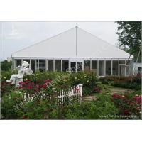 Cheap Gorgeous Transparent Glass Outdoor Party Tents , 850g/Sqm PVC Fabric 20x30 Tent for sale