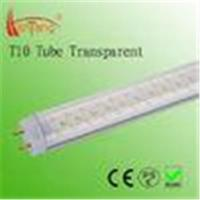 Cheap High Efficiency 5 Feet Transparent T10 SMD LED Fluorescent Tubes For School for sale