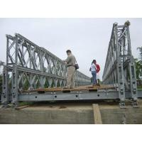 Quality DD Double Double Type Steel Bailey Bridge , Modular Expansion Joints Bridges wholesale