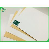 Cheap FSC Supported 250g 325g 365g Coated Kraft Paper Board For Food Box for sale