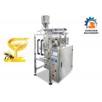 China CE Approved Sachet Packing Machine Electric Driven 0.04 - 0.09mm Thick Film on sale